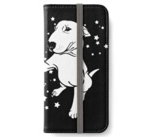 English Bull Terrier Giving a Paw iPhone Wallet/Case/Skin