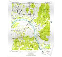 USGS TOPO Map Alabama AL Farley 303816 1947 24000 Poster