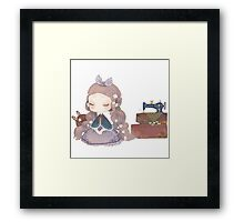 Inocent bunny  Framed Print
