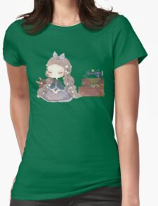 Inocent bunny  Womens Fitted T-Shirt