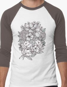 winter blooms for tee and other lovely things Men's Baseball ¾ T-Shirt