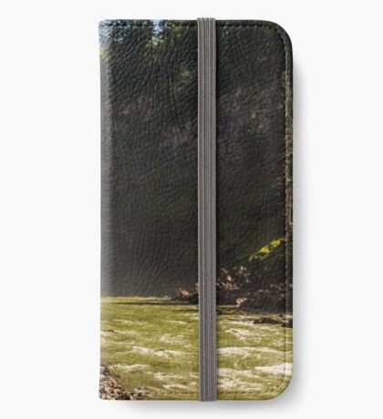 The Basin-Snoqualmie Falls iPhone Wallet/Case/Skin