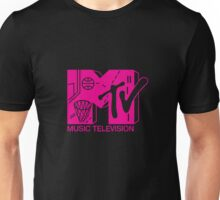 First Annual Rock N' Jock B-Ball Jam 1991 Magenta Unisex T-Shirt