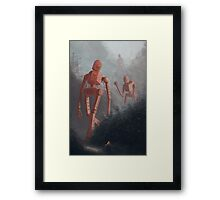 Soviet Bot Invasion Framed Print