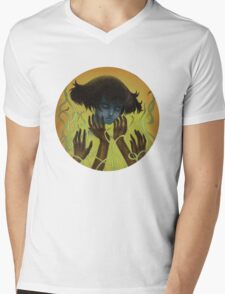 Handle With Care Mens V-Neck T-Shirt