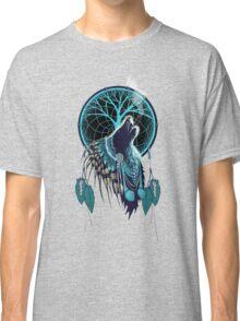 Wolf Indian Shaman Classic T-Shirt