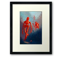 Soviet Bot Invasion 2 Framed Print