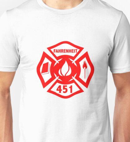 Fahrenheit 451 (THE CLASSICS COLLECTION) Unisex T-Shirt