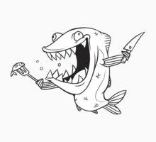 Crazy Fish One Piece - Short Sleeve