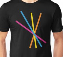 Lines and colours  Unisex T-Shirt