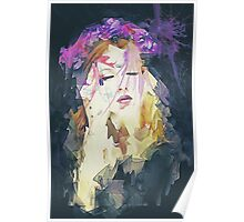 Path - Abstract Portrait Poster