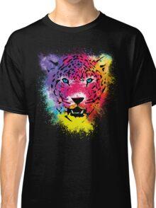 Tiger - Colorful Paint Splatters Dubs Classic T-Shirt