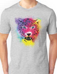 Tiger - Colorful Paint Splatters Dubs Unisex T-Shirt
