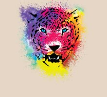Tiger - Colorful Paint Splatters Dubs - T-Shirt Stickers Art Prints Womens Fitted T-Shirt