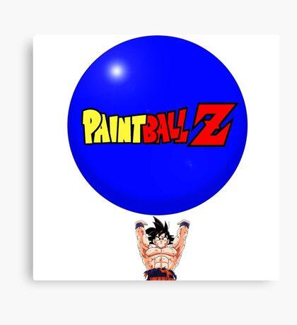 Paintball Z  Canvas Print