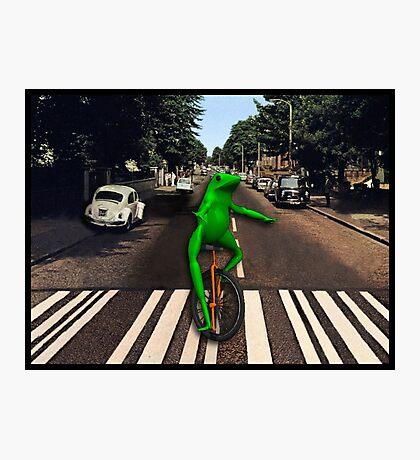 Dat Boi Abbey Road Photographic Print