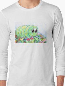 Sad Caterpillar Long Sleeve T-Shirt