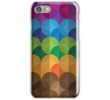 Scale-ish Circle Pattern iPhone Case/Skin
