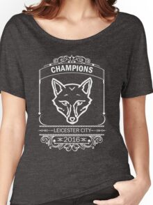 Leicester City Premier League Champions 5 Women's Relaxed Fit T-Shirt