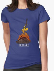 The First Flame Womens Fitted T-Shirt