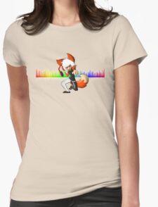 DJ Erin  Womens Fitted T-Shirt