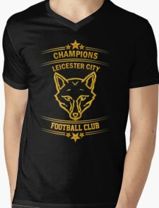 Leicester City Premier League Champions 6 Mens V-Neck T-Shirt