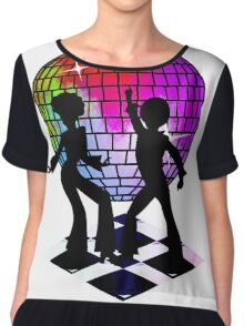 Retro Music DJ! Feel The Oldies! DANCE! Chiffon Top