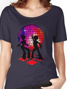 Retro Music DJ! Feel The Oldies! DANCE! Women's Relaxed Fit T-Shirt