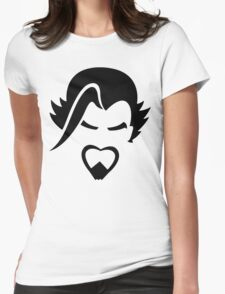 Hanzo Black Womens Fitted T-Shirt