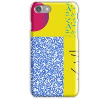 Pattern 90s design Circle iPhone Case/Skin
