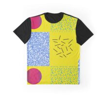 Pattern 90s design Circle Graphic T-Shirt