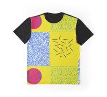 Pattern 90s design Circle Graphic T-Shirt