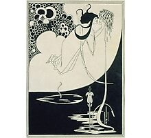 Vintage famous art - Aubrey Vincent Beardsley  - The Climax Illustration From  Salome  By Oscar Wilde Photographic Print