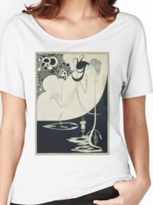 Vintage famous art - Aubrey Vincent Beardsley  - The Climax Illustration From  Salome  By Oscar Wilde Women's Relaxed Fit T-Shirt