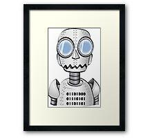 Ro bot Framed Print