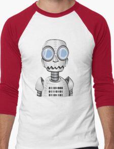 Ro bot Men's Baseball ¾ T-Shirt