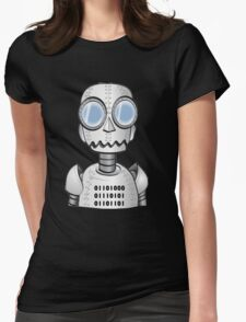 Ro bot Womens Fitted T-Shirt