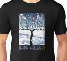 Napa Valley - Winter Vine II Unisex T-Shirt