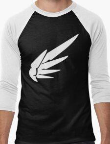 Mercy White Men's Baseball ¾ T-Shirt