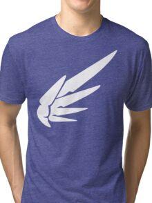 Mercy White Tri-blend T-Shirt
