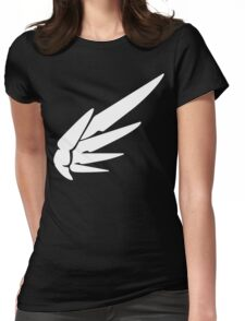 Mercy White Womens Fitted T-Shirt