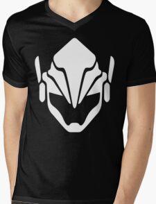 Pharah White Mens V-Neck T-Shirt