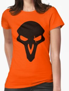 Reaper Black Womens Fitted T-Shirt
