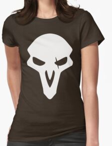 Reaper White Womens Fitted T-Shirt