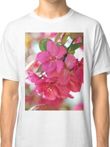 A branch of Crabapple flowers Classic T-Shirt
