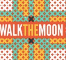Walk the Moon Tribal Print Sticker