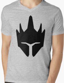 Reinhardt Black Mens V-Neck T-Shirt