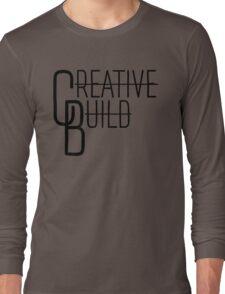 Creative Build Simple Logo Long Sleeve T-Shirt