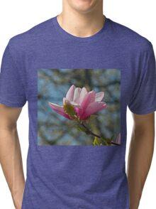 Magnolia flower Tri-blend T-Shirt