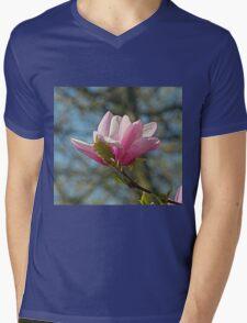 Magnolia flower Mens V-Neck T-Shirt